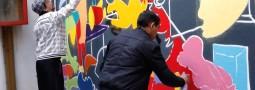 Atelier graff avec Jordane Jone