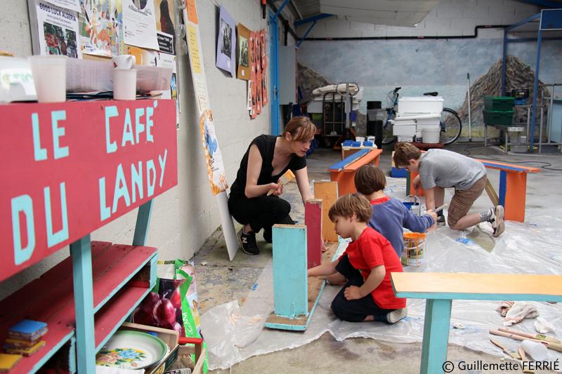 Métamorphose au Café du Landy