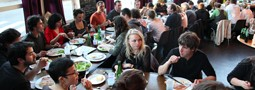 Photos des repas partenaires Europens &#038; bnvoles &#8211; 7 et 8 juin  Mains d&#8217;Oeuvres