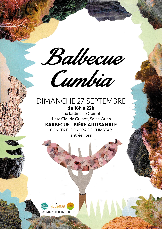 Affiche BALBECUE CUMBIA